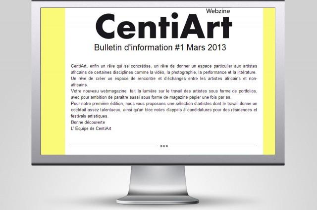 Centiart, webzine culturel