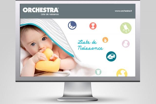 Listes de naissance ORCHESTRA