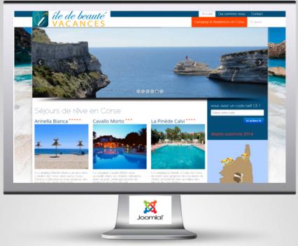 Ile de Beauté Vacances: réservation de séjours de plein air en ligne