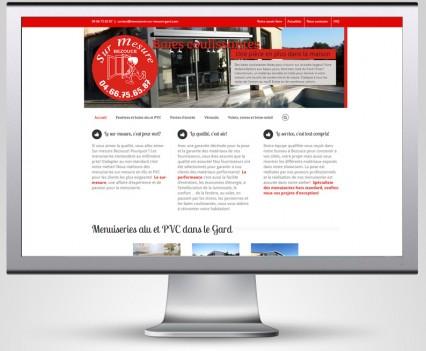 site internet menuiserie gard