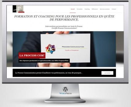 Darge formation et coaching, réalisation du site internet