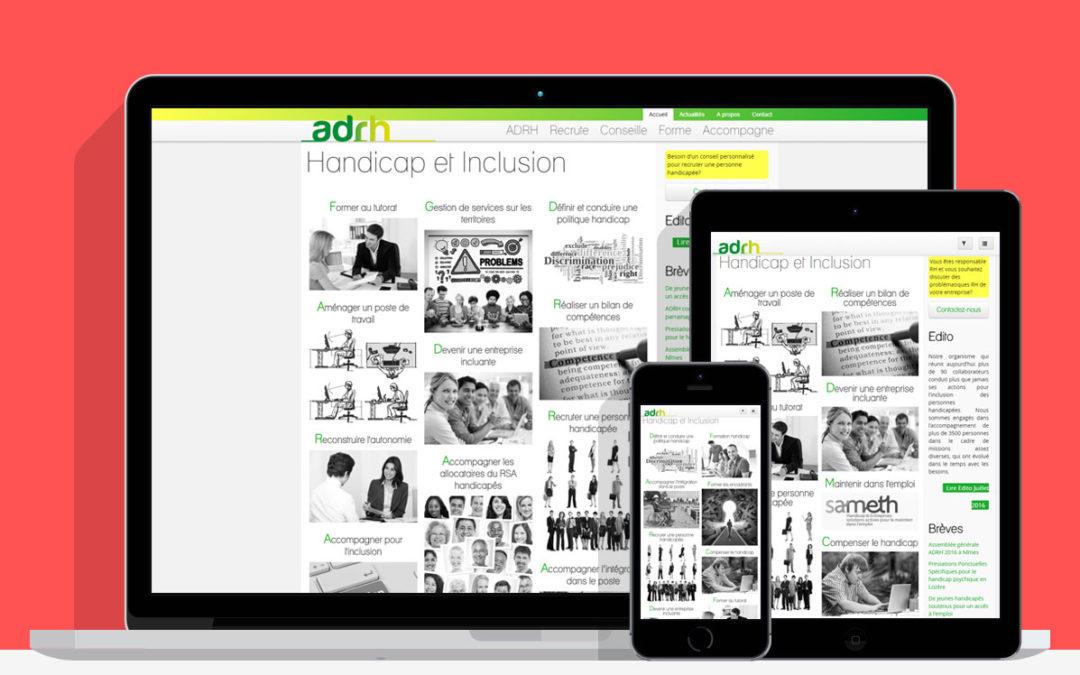 ADRH, handicap et inclusion en ligne
