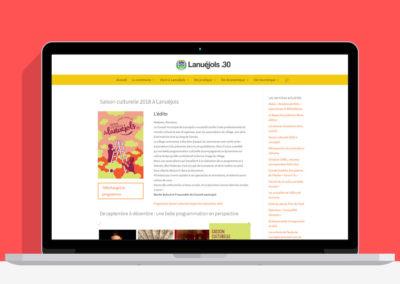 Site internet de la commune de Lanuéjols